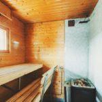Rauhala, sauna
